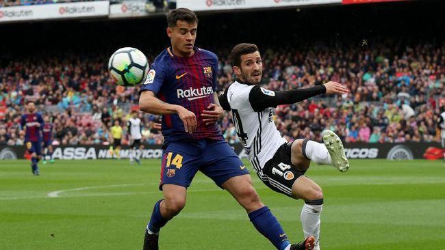 Coutinho Ikut Sedih Barcelona Gagal di Liga Champions