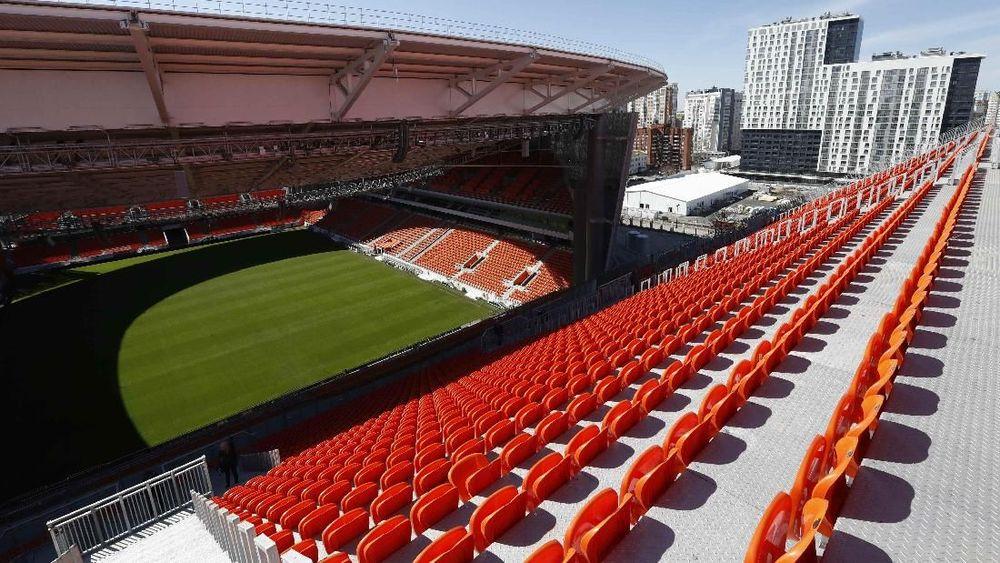 Megahnya Stadion Ekaterinburg Arena Jelang Piala Dunia 2018