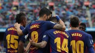 Atletico Kalah, Barcelona Bisa Juara Liga Spanyol di Riazor