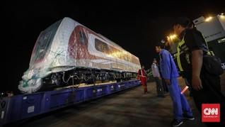 PT INKA Siapkan Rangkaian Terakhir LRT untuk Asian Games 2018