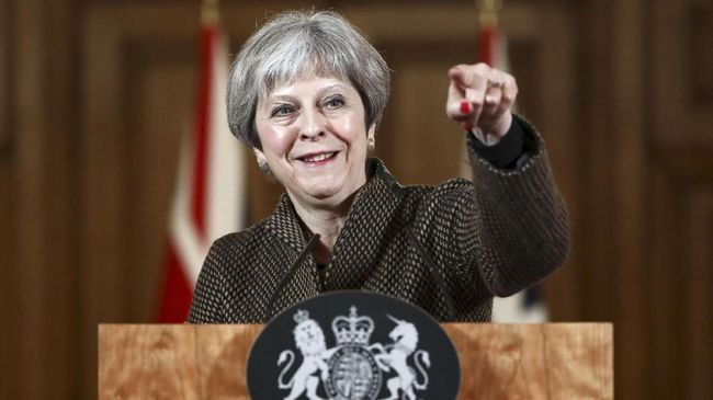 PM Inggris Berjanji Akan Terus Bertarung Bela Brexit