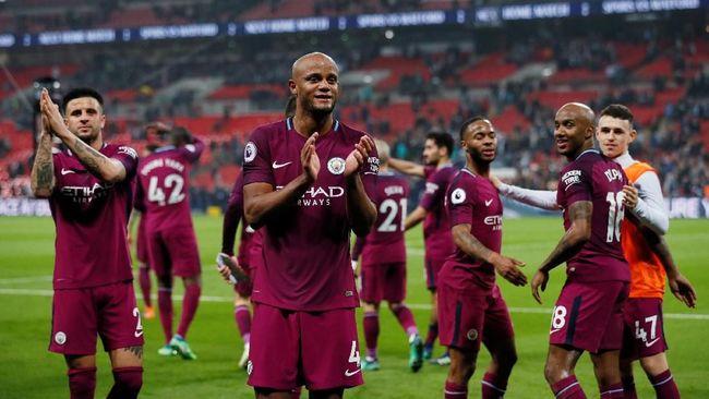 Manchester City Juara Liga Inggris 2017/2018