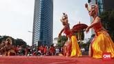 LKB Saraswati merupakan lembaga seni yang didirikan sejak 1968 di Jakarta. (CNN Indonesia/Andry Novelino)