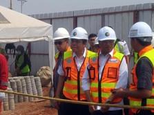 Foto: Menhub Tinjau Proyek Taxiway Bandara Soetta Tahap I