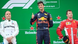 Daniel Ricciardo Juara F1 GP China