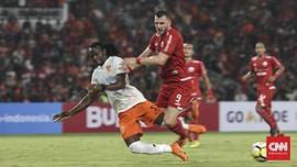 Persija Kalahkan Perseru 2-1 di Liga 1 2018
