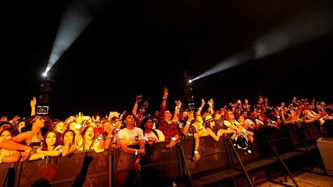 Ratusan Penonton Festival Musik di Spanyol Terluka