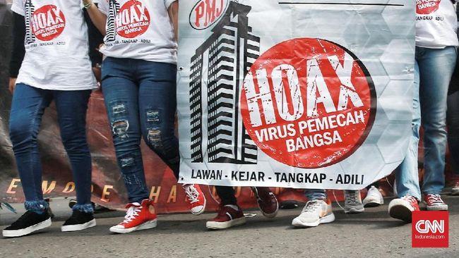 Sebulan Jelang Pilpres, Kominfo Catat 200 Hoaks Politik