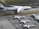 FOTO: Pesawat Terbesar di Dunia Mendarat di Kuala Lumpur