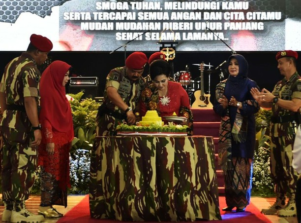 Panglima TNI Hadiri Syukuran HUT ke-66 Kopassus