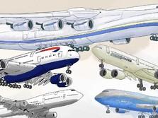 Ini Deretan Pesawat Terbesar di Dunia