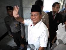 Prabowo Deklarasi Capres Nanti Malam, Cawapres Juga Diumumkan