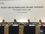 United Tractors Bagi Dividen Rp 4,5 Triliun