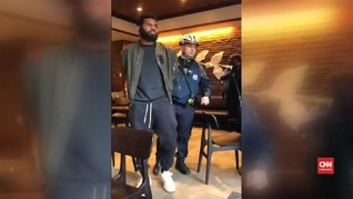 VIDEO: Insiden Rasis di Philadelphia, Starbucks Minta Maaf