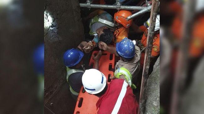 Konstruksi Proyek Tol Manado-Bitung Roboh, 2 Orang Tertimbun