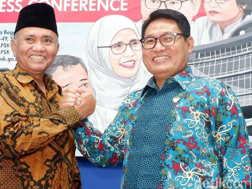 Penandatanganan itu dilakukan oleh Ketua LPSK Abdul Haris Semendawai dan Ketua KPK Agus Rahardjo di kantor LPSK Jakarta, Selasa (17/4/2018).