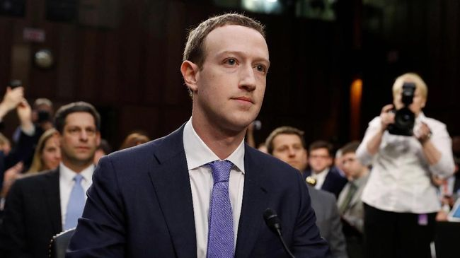 Skandal Facebook, Mark Zuckerberg Akan Bertemu Parlemen Eropa