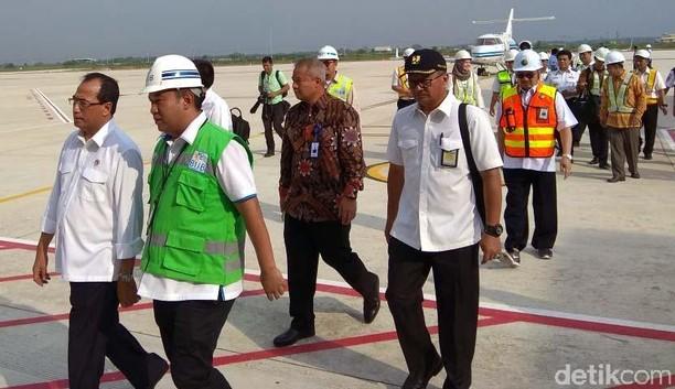Touchdown, Jet Menhub Mendarat Mulus di Bandara Kertajati