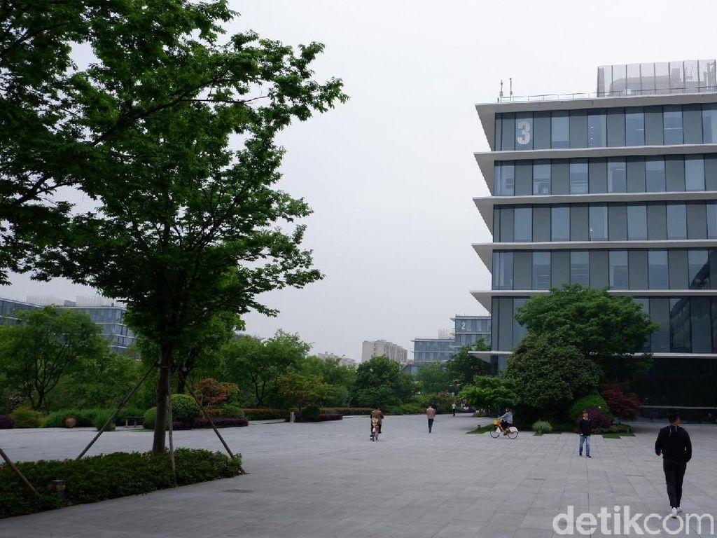 Alibaba Campus dibuka pada Agustus 2013. (Foto: detikINET/Adi Fida Rahman)
