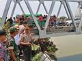 Kapolda Jatim Duga Jembatan Widang Ambruk karena Sudah Tua