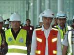 Saat Jokowi Tinjau Bandara Terbesar Ke-2 di RI Setelah Soetta