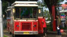 VIDEO: Bus Premium Tol Tangerang-Jakarta Langka