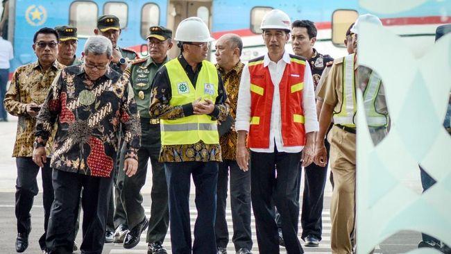 Jokowi Tinjau Pengembangan Bandara Soedirman Purbalingga