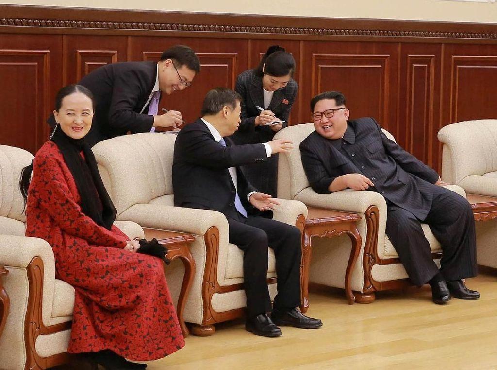 Kim Jong Un mengatakan dia ingin memulai fase hubungan baru dengan China.