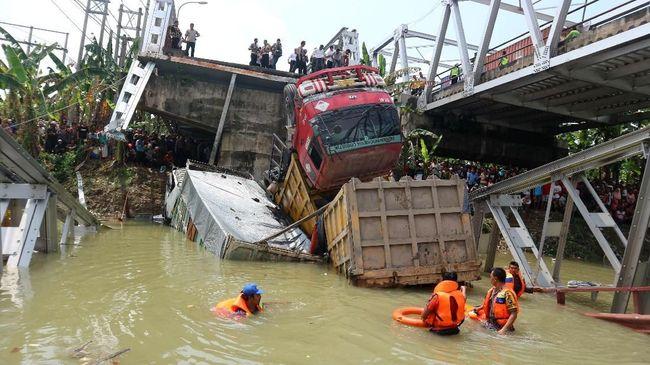 Perbaikan Jembatan Widang Diperkirakan Rampung Sebelum Mudik
