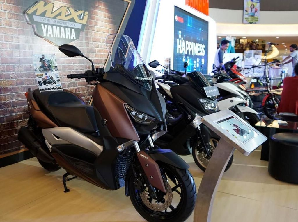 Di ajang BYMS Cirebon juga diperkenalkan Lexi yang merupakan skutik MAXI Yamaha teranyar. Istimewa/Yamaha.