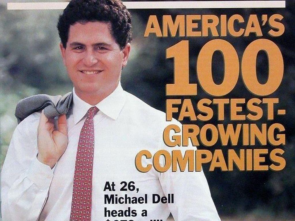 Dell perlahan-lahan jadi perusahaan komputer raksasa. Juni 1988, kapitalisasi pasar Dell tumbuh jadi USD 80 juta dari yang semula USD 30 juta. Tahun 1992, majalah Fortune memasukkan Dell Computer Corporation dalam daftar 500 perusahaan terbesar dunia. Dan Michael jadi CEO termuda sebuah perusahaan yang masuk Fortune 500. Foto: istimewa