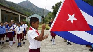 FOTO: Sisa-sisa Semangat Castro di Desa Terpencil Kuba