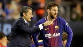Valverde: Tak Ada Waktu Ideal Istirahatkan Messi