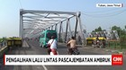 PASCA JEMBATAN PENGHUBUNG LAMONGAN-TUBAN AMBRUK