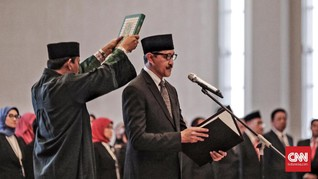 Dody Waluyo Resmi Dilantik Jadi Deputi Gubernur BI