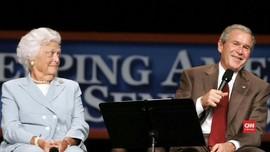 VIDEO: Mantan Ibu Negara AS, Barbara Bush dalam Kenangan