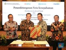 DJP Gaet Mandiri, BNI, & BRI Kembangkan Layanan Elektronik