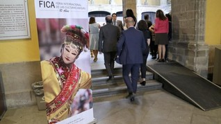 Tari Topeng Betawi di Festival Budaya Meksiko
