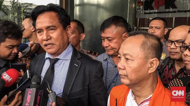 PBB Sebut Yusril Pengacara Jokowi-Ma'ruf Atas Nama Pribadi