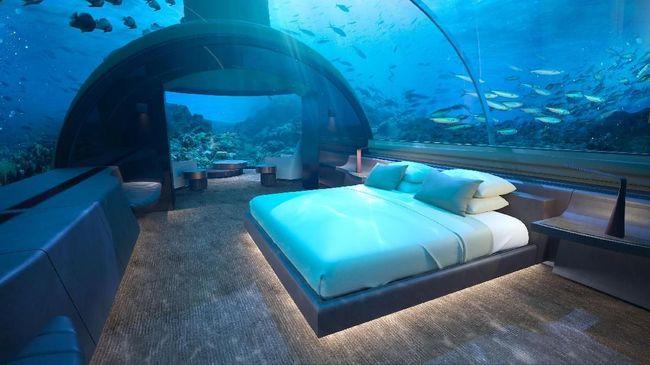 'Check-In' di Hotel Bawah Laut Seharga Rp600 Jutaan per Malam
