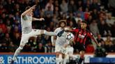 Para pemain Manchester United tampil lebih solid menghadapi AFC Bournemouth setelah kalah 0-1 dari West Bromwich Albion. (Reuters/John Sibley)