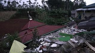 BMKG: Gempa Susulan Banjarnegara Cenderung Melemah