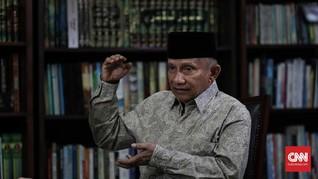 Puji Gatot, Amien Rais Tetap Prediksi Jokowi Lawan Prabowo