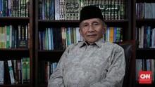 Amien Rais Sebut Cawapres Prabowo Masih Teka-teki