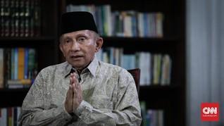 Amien Rais Klarifikasi soal 'Tuhan Malu Tak Kabulkan Doa'