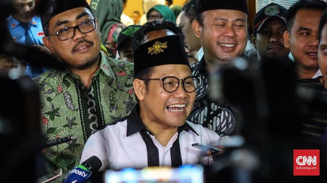 Satu Pesawat dengan Jokowi, Cak Imin Klaim Bahas soal Pilpres