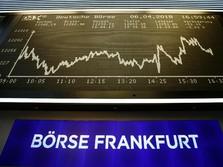 Bursa Eropa Ditutup Hijau Akhir Pekan Lalu