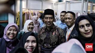 'Pesan' Jokowi untuk Desainer Busana Muslim Indonesia