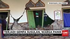 Pasca Gempa Banjarnegara