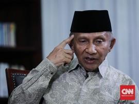 Amien Rais: PAN Bunuh Diri Jika Dukung Jokowi di Pilpres 2019